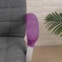 Kép 1/6 - halvány orgonalila karfa huzat (3)